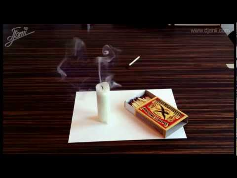 These 3D Paper Illusions Will Do Your Head In