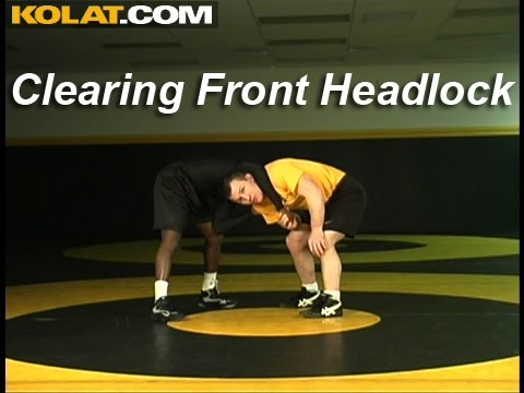 Wrestling Moves KOLAT.COM Clearing A Front Headlock