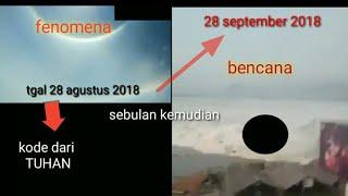 Video FENOMENA sebelum terjadi Tsunami dan gempa di palu MP3, 3GP, MP4, WEBM, AVI, FLV Oktober 2018