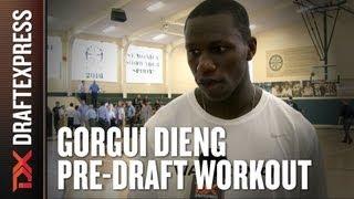 Gorgui Dieng 2013 NBA Pre-Draft Workout & Interview