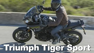 10. 2016 Triumph Tiger Sport 1050 Review