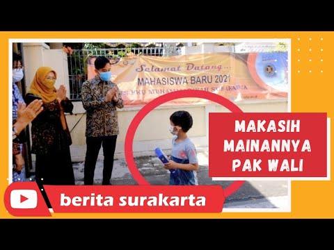 Kunjungan Kerja Walikota Surakarta