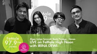 Afgan, Isyana Sarasvati, Rendy Pandugo - Heaven LIVE on FHN with Irina Dewi