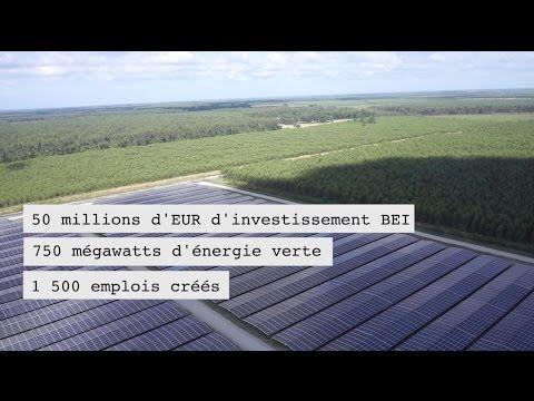L'europe soutient l'investissement dans nos territoires