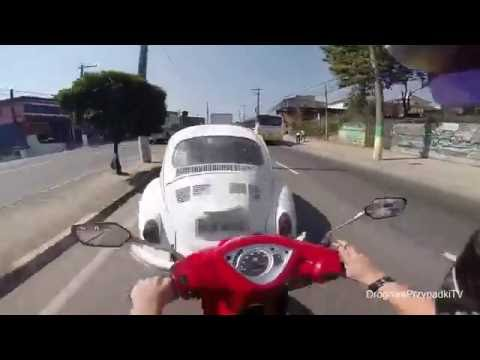 Accidents on scooters - compilation 2016