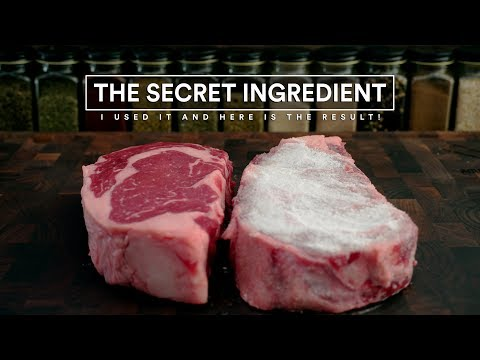 Best Way to Sear A STEAK (Using SECRET Ingredient) TESTED!