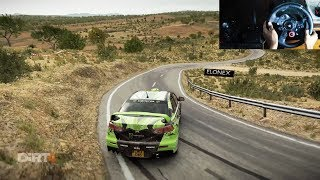 Mitsubishi Lancer Evo X Dirt 4 (Logitech g29 + shifter) gameplay
