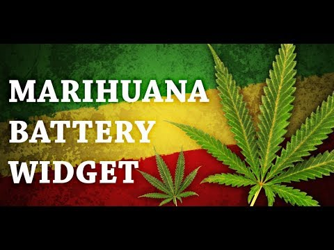 Video of Marijuana Leaf HD Battery