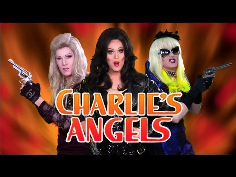 CHARLIE\'S ANGELS - MADONNA LADY GAGA CHER (Loose Women)