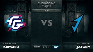 [RU] Forward Gaming vs J.Storm, The Chongqing Major LB Round 1