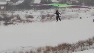 Зима на дельтадроме #2