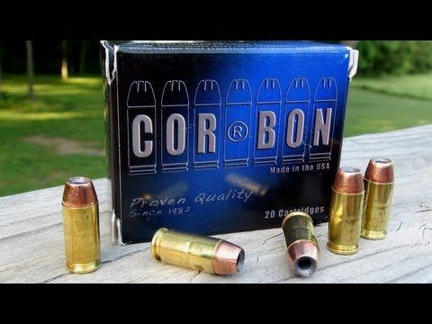 COR-BON .40 S&W 165 gr Ammo Gel Test