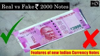 https://youtu.be/QoyAFFFsy0w 15 Features of New Rs. 2000 Currency Note You Must KnowSecrets of New Indian Rs. 2000 Notes On 08.11.16 Indian government ha...