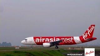 Video [TEST FLIGHT] AirAsia Zest Airbus A320-216 9M-AFN AXM9600 Takeoff KUL WMKK RWY32L 07122013 MP3, 3GP, MP4, WEBM, AVI, FLV Agustus 2018