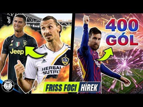 Ibrahimovic alaposan kiosztotta Ronaldót! Messi újabb sporttörténelmet írt!   Foci Hírek
