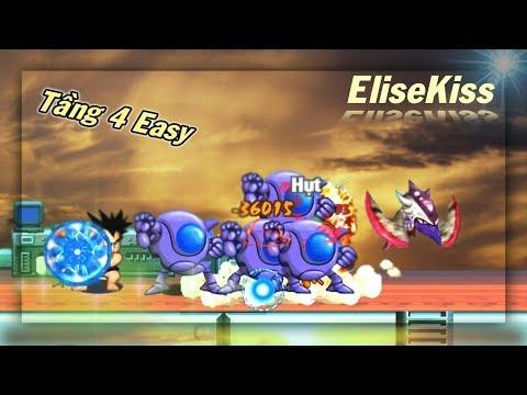 Ngọc Rồng Online - Thử Thách Win Tầng 4 Lần Đầu Của EliseKiss - Thời lượng: 13:06.