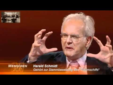 schmidt - Harald Schmidt lsst bei Hape Kerkeling das letzte Jahr Revue passieren. Einen seiner Gste durfte Hape Kerkeling selbst zum 