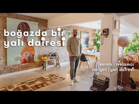 Salonu İstanbul Boğazı'na Çıkan Yalı Dairesi