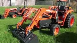9. Kioti Tractor DK SE Series 35 to 50 HP