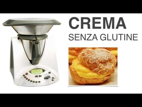video ricetta: bimby - crema senza glutine