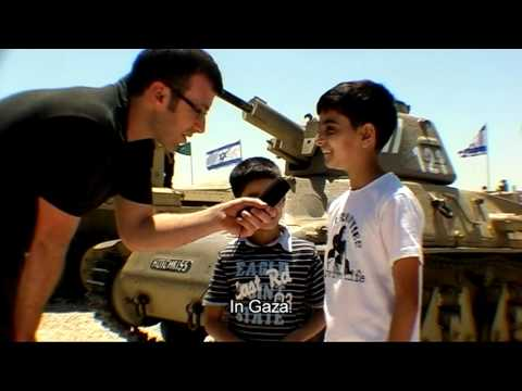 Israeli kids in the army museum - Itamar Rose