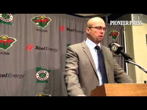 #mnwild coach Mike Yeo on his team's loss and the goaltending woes. Video: