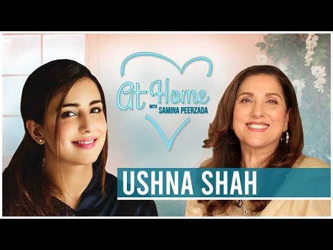 Ushna Shah | Talks About Love, Life and Fear of Sharing | #RewindatHome with Samina Peerzada