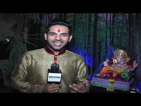 Ankit Bathla's forest themed Ganesha