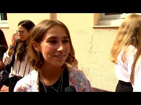 Lycée Albert 1: back to school for Year 11 pupils