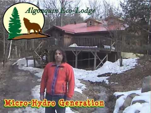 Algonquin Eco-Lodge – 12 kW Micro-Hydro Turbines