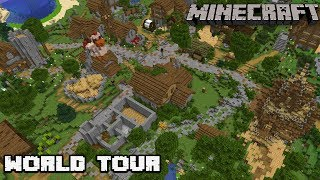 One Month Later.. Patreon Server World Tour : MINECRAFT 1.13.2 Survival Server Let's Play