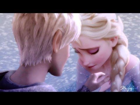 Elsa and Jack Frost // Afraid