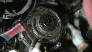 5. Diaphragm clutch alignment How to do it without a tool just by eye no alignment tool needed