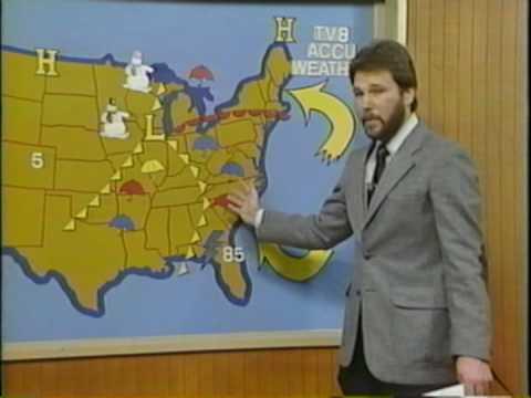 My TV debut 1982