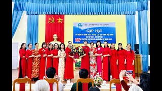 Hội LHPN phường Thanh Sơn: Gặp mặt kỉ niệm 91 năm ngày thành lập Hội LHPN Việt Nam, tuyên truyền Luật nghĩa vụ quân sự