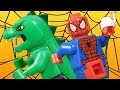 Lego Spiderman - Origin of The Lizard