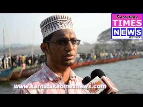 Bridge of boats used to pray at Dargah in Mangaluru