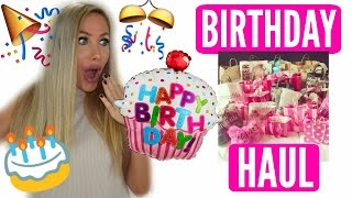 WHAT I GOT FOR MY BIRTHDAY |  HAUL by Channon Rose
