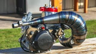 Video Incredible Two Stroke Engine Build! MP3, 3GP, MP4, WEBM, AVI, FLV Juni 2019