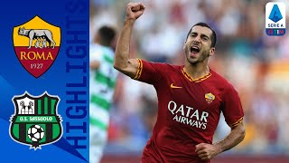 Roma-Sassuolo 4-2, highlights