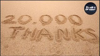20.000 THANKS TO ALL SUBSCRIBERS