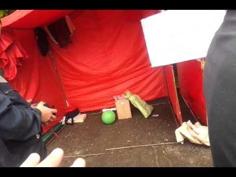 Бездействие полиции. Коммунистов пытались отравить аммиаком. (видео)