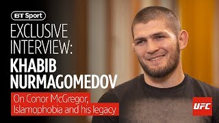 Video Khabib Nurmagomedov full interview (2019) | Conor McGregor, Islamophobia, and dealing with fame MP3, 3GP, MP4, WEBM, AVI, FLV Juni 2019