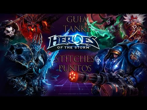 Guía Puntos/Stitches tanke Heroes of the Storm (español)
