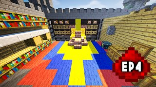 Let's Build: REDSTONE FORTRESS EP4 - Throne Room, Kitchen
