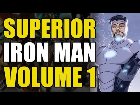 Iron Man's New Endosym Armor (superior Iron Man Vol 1: Infamous)
