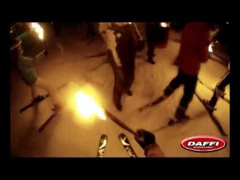 Bajada de Antorchas Daffi en Baqueira