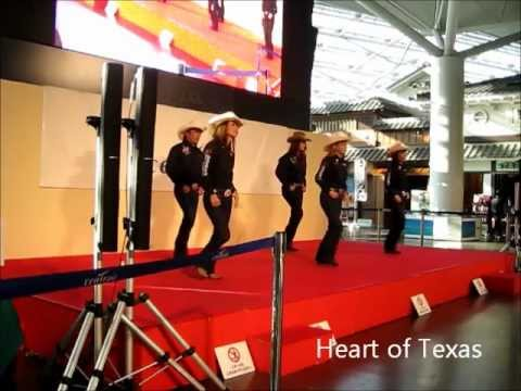 """Quickly"" Country Line Dance Heart of Texas"