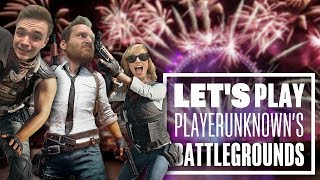 Let's Play PUBG gameplay with Chris, Ian and Aoife: Winner Winner New Years Dinner?