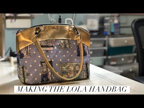 Making The Lola Handbag by Swoon Sewing Patterns